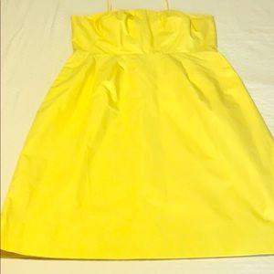 Yellow J CREW Dress Size 4